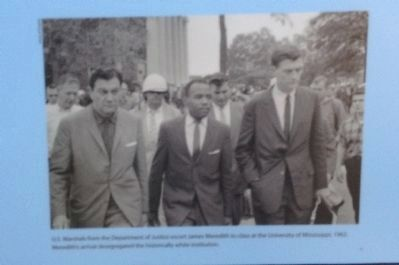 U.S. Marshals and James Meredith image. Click for full size.