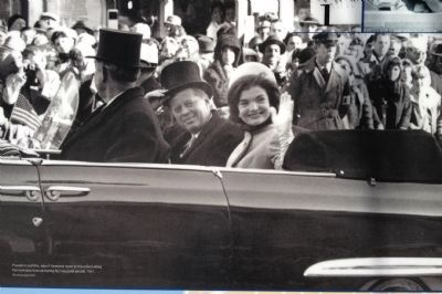 President and Mrs. John F. Kennedy image. Click for full size.