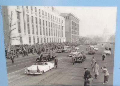 President Eisenhower's Inaugural Parade image. Click for full size.