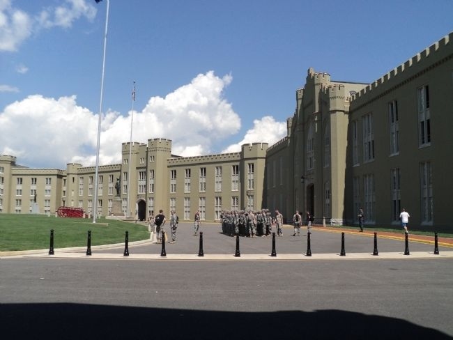 Virginia Military Institute image. Click for full size.