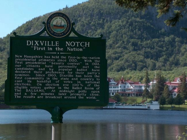 Dixville Notch, New Hampshire image. Click for full size.