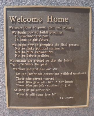 Welcome Home image. Click for full size.