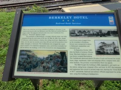 Berkeley Hotel Marker image. Click for full size.