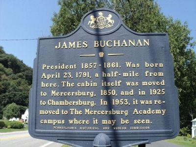James Buchanan Marker image. Click for full size.
