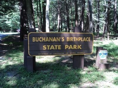 Buchanan's Birthplace State Park image. Click for full size.