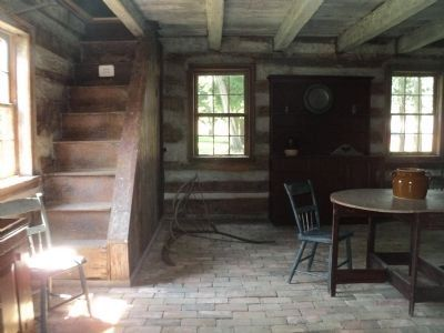 Inside the Buchanan Cabin image. Click for full size.