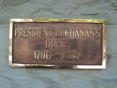 Second Buchanan House Marker image. Click for full size.