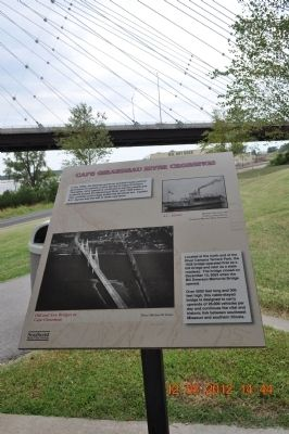 Cape Girardeau River Crossings Marker image. Click for full size.