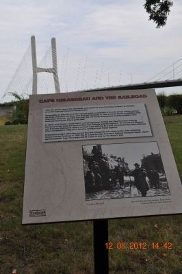 Cape Girardeau and the Railroad Marker image. Click for full size.