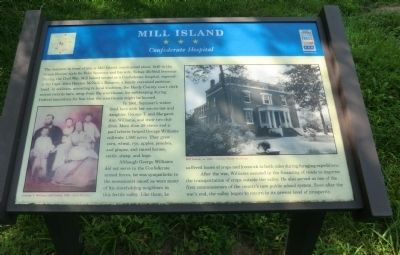 Mill Island Marker image. Click for full size.
