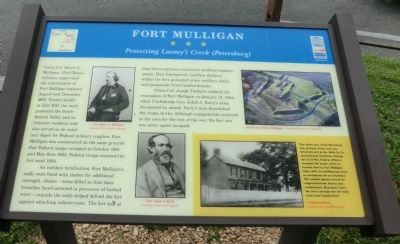 Fort Mulligan Marker image. Click for full size.