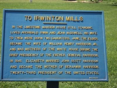 To Irwinton Mills Marker image. Click for full size.