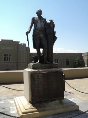 George Washington Statue at VMI image. Click for full size.