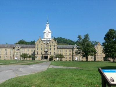 Trans-Allegheny Lunatic Asylum Marker image. Click for full size.