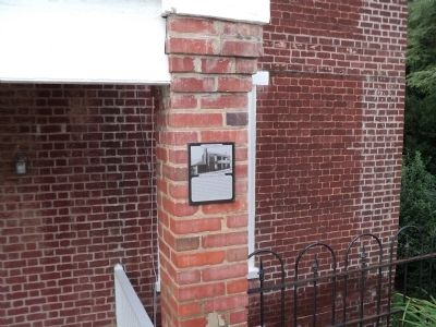 The Sloan House Marker image. Click for full size.