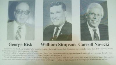 Risk-Simpson-Novicki on Columbus Area Business Hall of Fame Marker image. Click for full size.