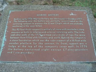 Marine Battery Marker image. Click for full size.