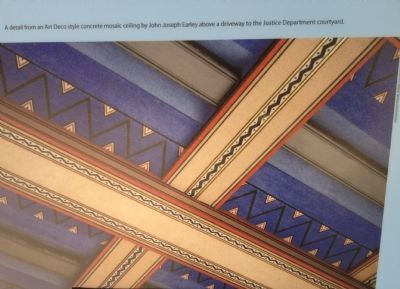 Concrete Mosaic Ceiling image. Click for full size.
