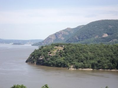 Redoubt 7 from West Point image. Click for full size.