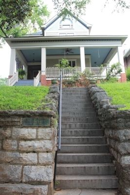 S.W. Angle of Fort Wood Marker image. Click for full size.