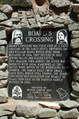 Board's Crossing Marker image. Click for full size.
