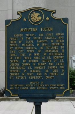 Augustine Tolton Marker image. Click for full size.