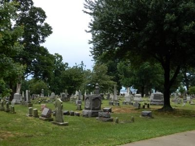Woodland Cemetery image. Click for full size.