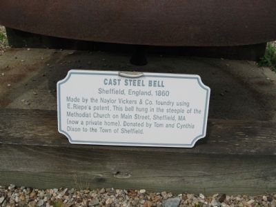 Cast Steel Bell Marker image. Click for full size.