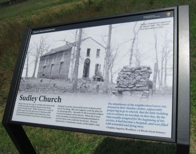 Sudley Church Marker image. Click for full size.