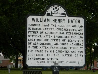 William Henry Hatch Marker image. Click for full size.