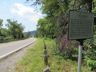 Chilhowee Marker image. Click for full size.