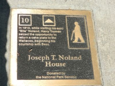 Joseph T. Noland House Marker image. Click for full size.
