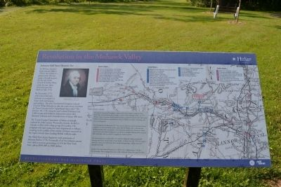 Johnson Hall State Historic Site Marker image. Click for full size.