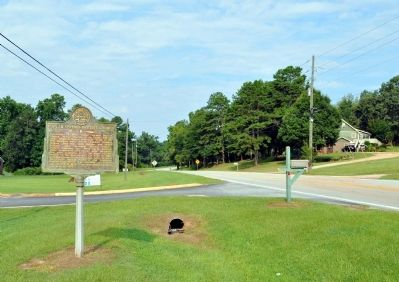 Poplar Springs Baptist Church Marker image. Click for full size.