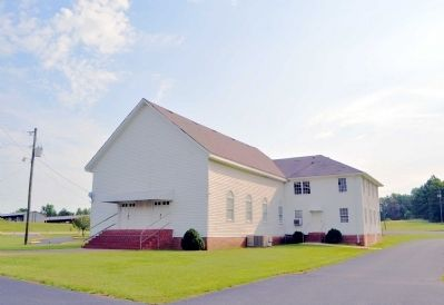 The Old Poplar Springs Baptist Church Building image. Click for full size.