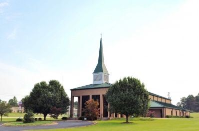 The New Poplar Springs Baptist Church image. Click for full size.