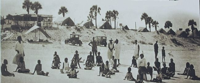 Historic American Beach image. Click for full size.