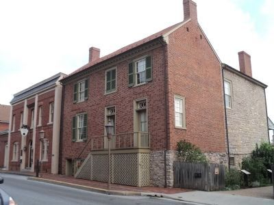 Stonewall Jackson House in Lexington image. Click for full size.