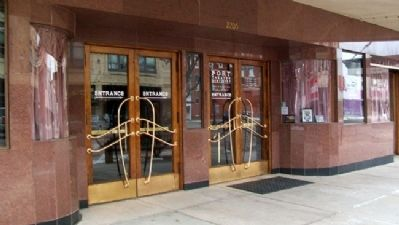 Empress Theatre Entrance image. Click for full size.