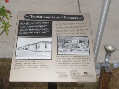 Tourist Courts and Cottages Marker image. Click for full size.