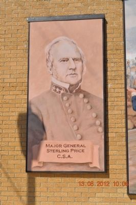 Major General Sterling Price C.S.A. image. Click for full size.