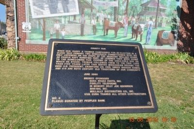 County Fair Marker image. Click for full size.
