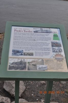 Pook's Turtles Marker image. Click for full size.