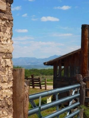 The Ranch With a View of the Mountains in the Background image. Click for full size.