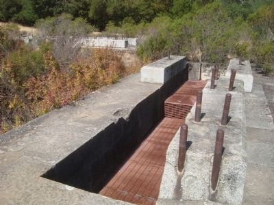 Buena Vista Pumphouse Foundation image. Click for full size.