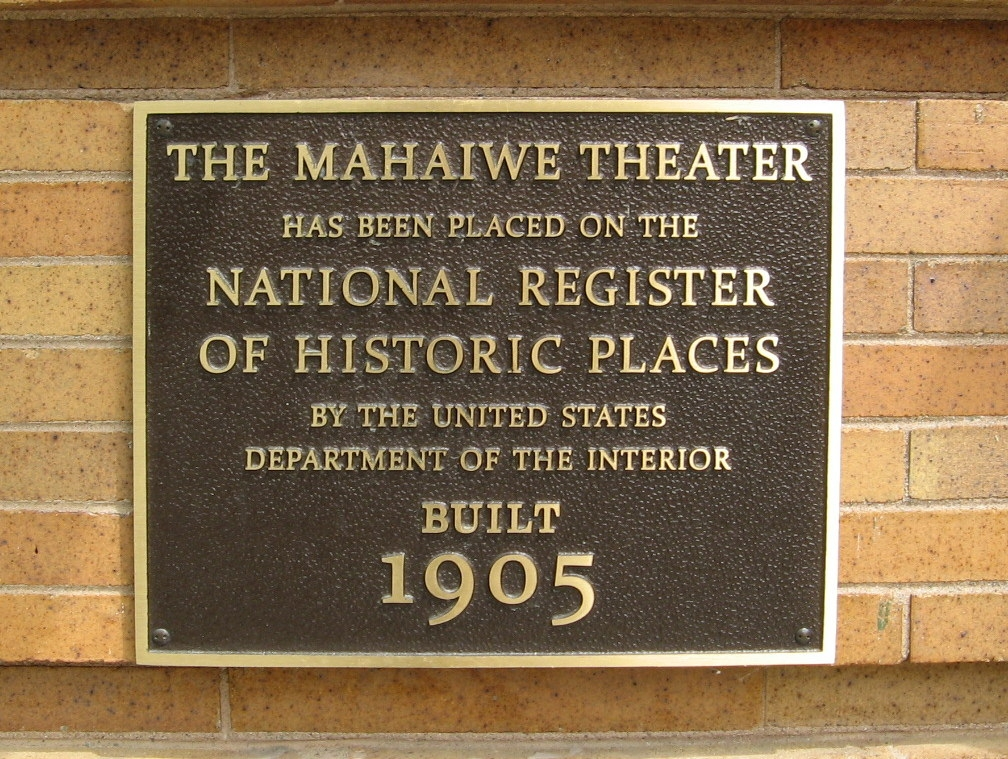 The Mahaiwe Theater Marker