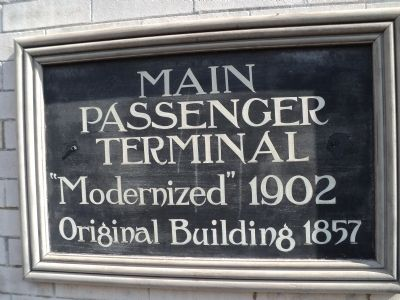 Main Passenger Terminal Marker image. Click for full size.