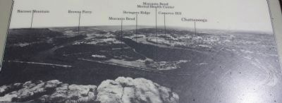 Tennessee River and Moccasin Bend Marker image. Click for full size.