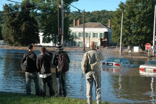 Guy Park - Hurricane Irene Flooding image. Click for full size.