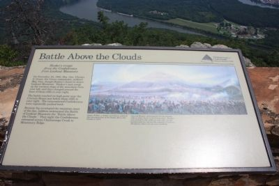 Battle Above the Clouds Marker image. Click for full size.